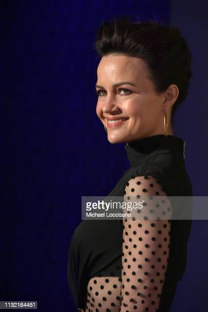Actress Carla Gugino attends the Roundabout Theatre Company 2019 Gala at The Ziegfeld Ballroom on February 25, 2019 in New York City.