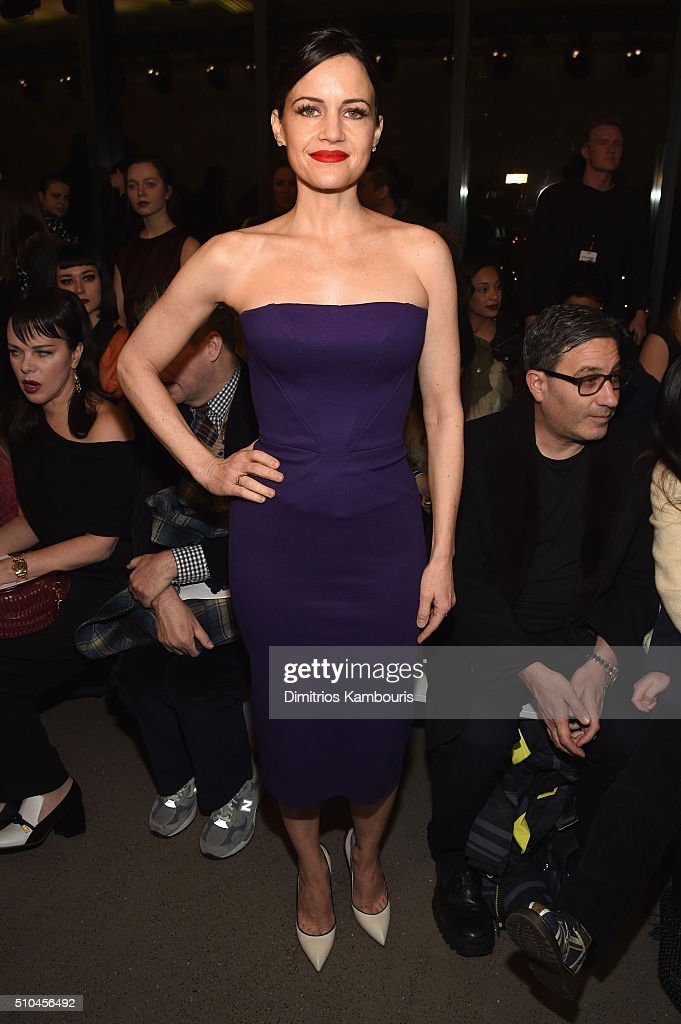 Zac Posen - Front Row - Fall 2016 New York Fashion Week