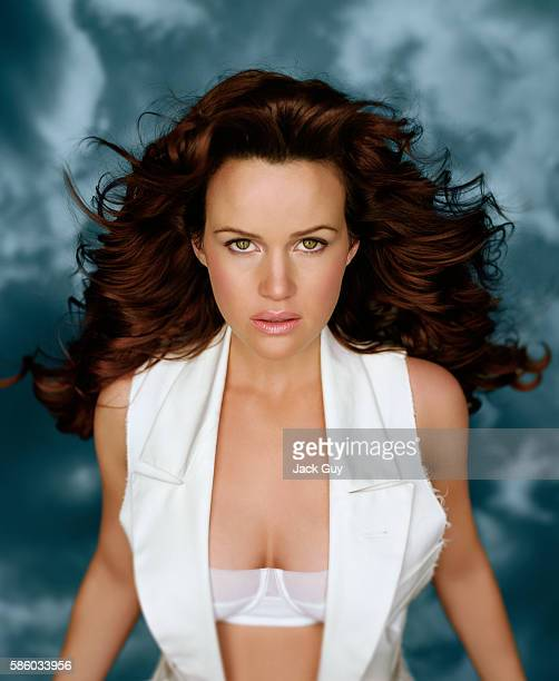 Actress Carla Gugino is photographed for Razor Magazine in 2005 in Los Angeles, California. PUBLISHED IMAGE.