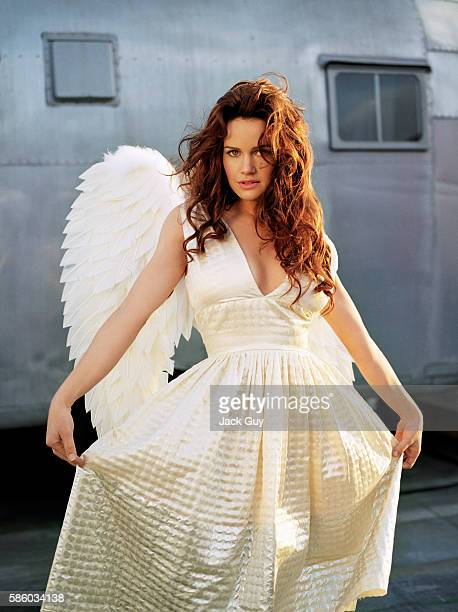 Actress Carla Gugino is photographed for Razor Magazine in 2005 in Los Angeles California PUBLISHED IMAGE