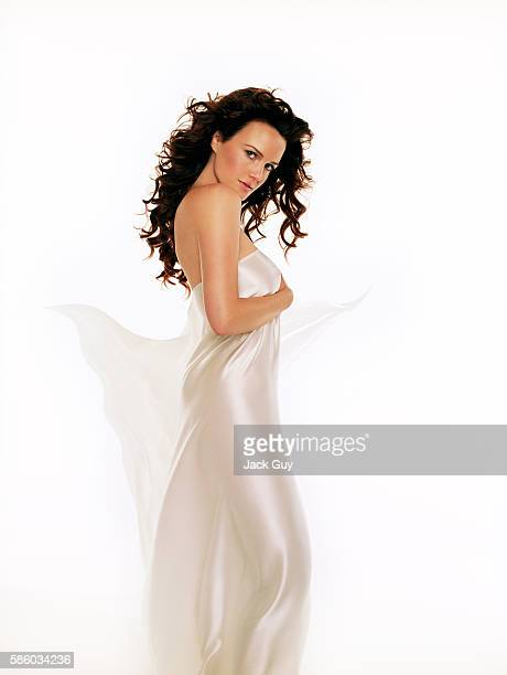 Actress Carla Gugino is photographed for Razor Magazine in 2005 in Los Angeles California