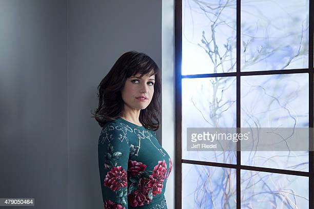 Actress Carla Gugino is photographed for TV Guide Magazine on January 17 2015 in Pasadena California