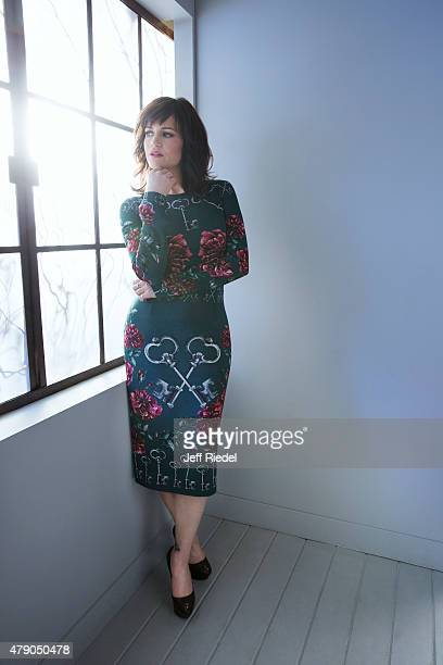 Actress Carla Gugino is photographed for TV Guide Magazine on January 17 2015 in Pasadena California PUBLISHED IMAGE