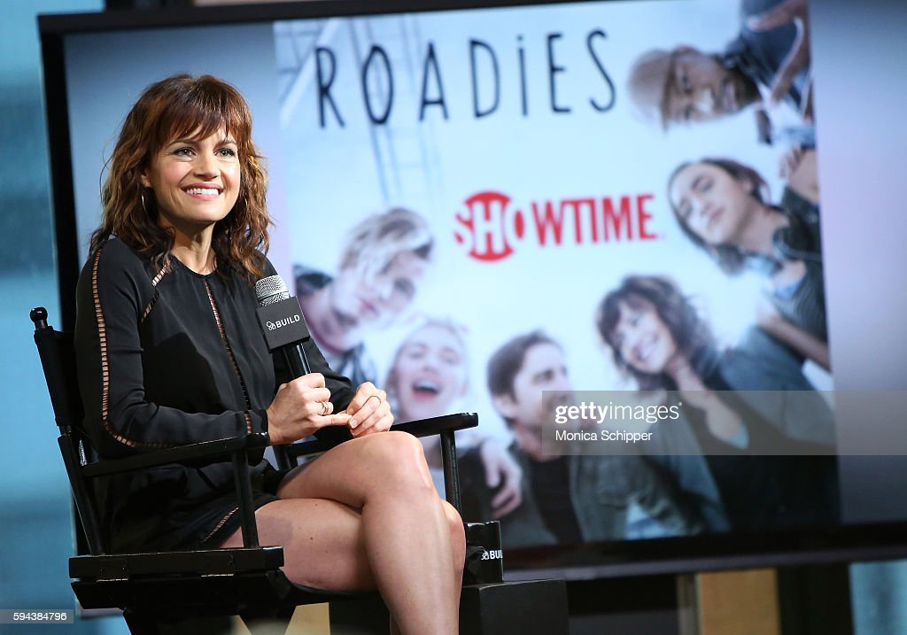 "AOL Build Presents Carla Gugino Discussing Her New Showtime Comedy, ""Roadies"""