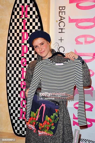Actress Carla Juri attends Kari Feinstein's Style Lounge on January 22 2016 in Park City Utah