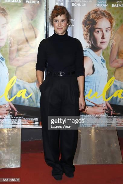 Actress Carla Juri attends 'Paula' Paris Premiere at UGC Cine Cite des Halles on February 13 2017 in Paris France