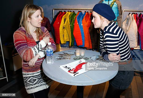 Actress Carla Juri attends the Eddie Bauer Adventure House during the 2016 Sundance Film Festival at Village at The Lift on January 22 2016 in Park...