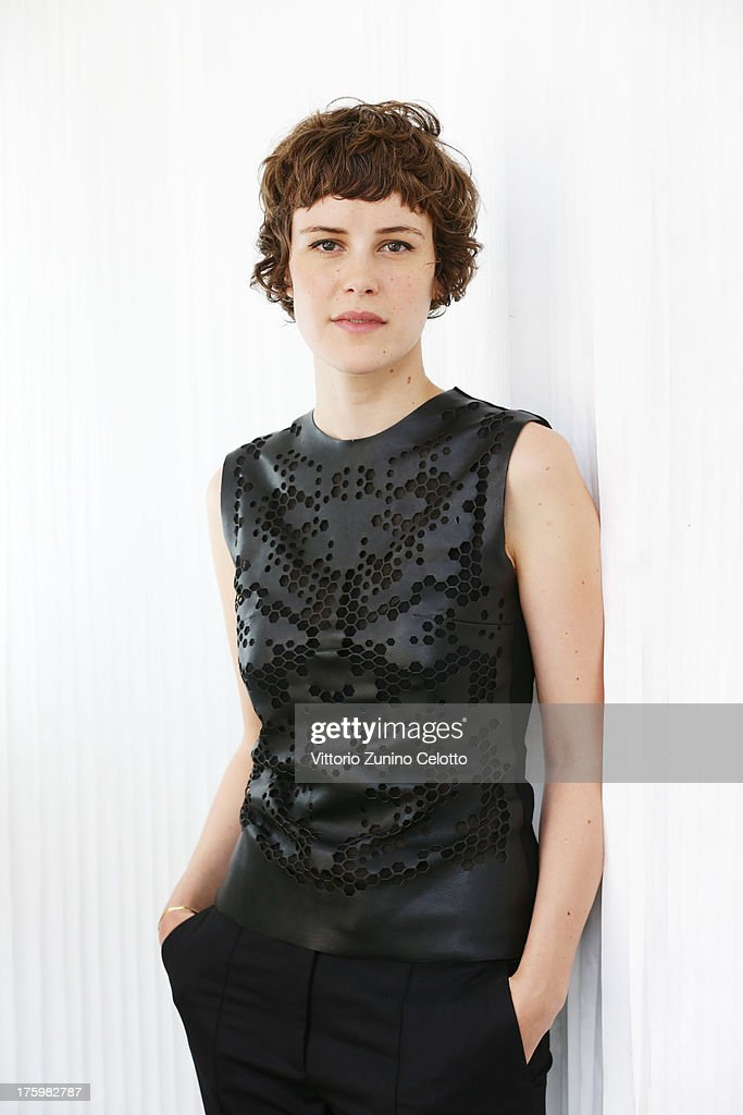 Actress Carla Juri poses for a portrait during the 66th Locarno Film Festival on August 11, 2013 in Locarno, Switzerland.