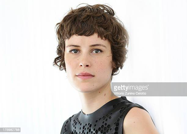 Actress Carla Juri poses for a portrait during the 66th Locarno Film Festival on August 11 2013 in Locarno Switzerland