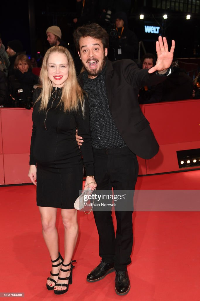 Actress Carla Nieto and her partner, actor Leonardo Ortizgris, attend the closing ceremony during the 68th Berlinale International Film Festival Berlin at Berlinale Palast on February 24, 2018 in Berlin, Germany.