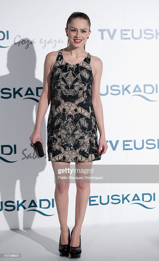 Actress Carla Nieto attends Basque Country Tourism Campaign Presentation at Cibeles Palace on January 17, 2012 in Madrid, Spain.