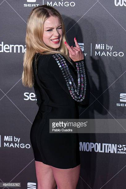 Actress Carla Nieto attends VIII Cosmopolitan Fun Fearless Female Awards at Ritz hotel on October 27 2015 in Madrid Spain