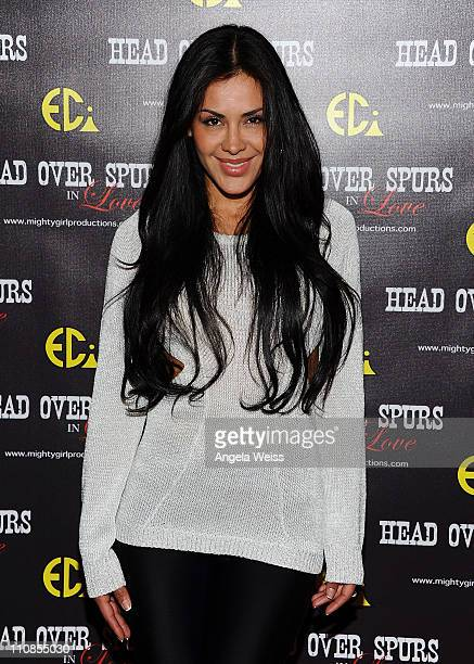 Actress Carla Ortiz arrives at the world premiere of 'Head Over Spurs In Love' at Majestic Crest Theatre on March 24, 2011 in Los Angeles, California.