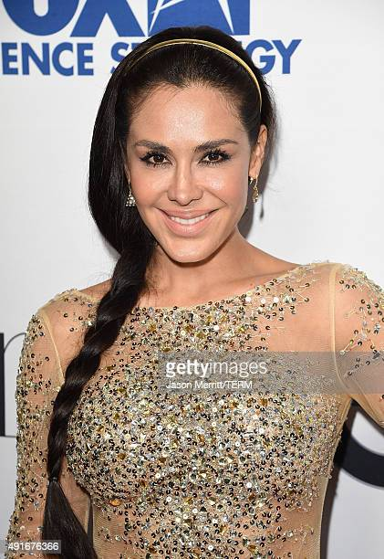 Actress Carla Ortiz attends the Latina 'Hot List' Party hosted by Latina Media Ventures at The London West Hollywood on October 6 2015 in West...