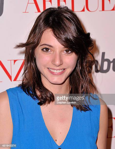 Actress Carla Quevedo attends the 'Affluenza' premiere at SVA Theater on July 9 2014 in New York City