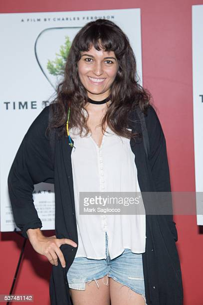 Actress Carlen Altman attends the 'Time To Choose' New York screening at Landmark's Sunshine Cinema on June 1 2016 in New York City