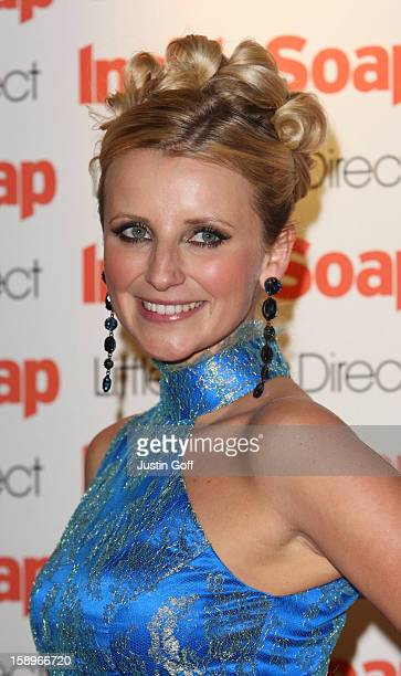Actress Carley Stenson In The Press Room For The Inside Soap Awards 2008 At Gilgamesh, Camden Lock, In London.