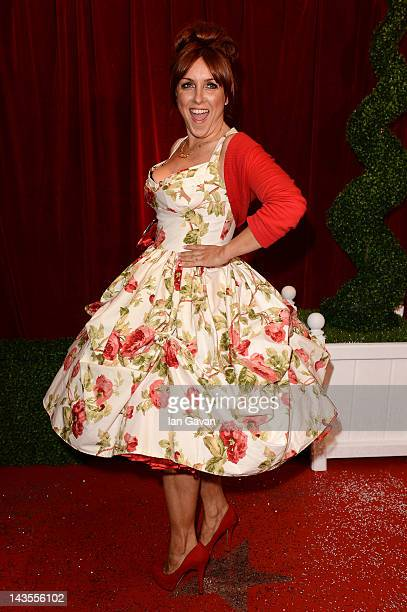 Actress Carli Norris attends The 2012 British Soap Awards at ITV Studios on April 28 2012 in London England