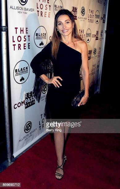 Actress Carlotta Montanari attends 'The Lost Tree' screening at TCL Chinese 6 Theatres on October 9 2017 in Hollywood California