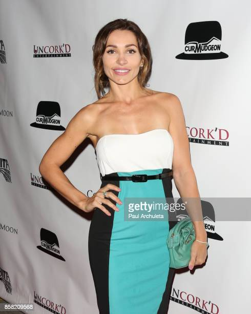Actress Carlotta Montanari attends the premiere of Cold Moon at The Laemmle's Ahrya Fine Arts Theatre on October 5 2017 in Beverly Hills California
