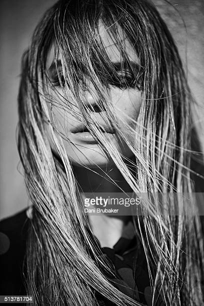 Actress Carlson Young is photographed for Wonderland on November 9 2015 in El Segundo California