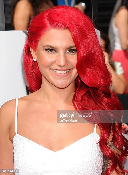 Actress Carly Aquilino attends the 2014 MTV Movie Awards at Nokia Theatre LA Live on April 13 2014 in Los Angeles California