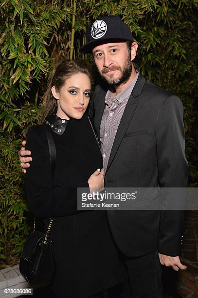 Actress Carly Chaikin and Ryan Bunnell attend the 2016 GQ Men of the Year Party at Chateau Marmont on December 8 2016 in Los Angeles California