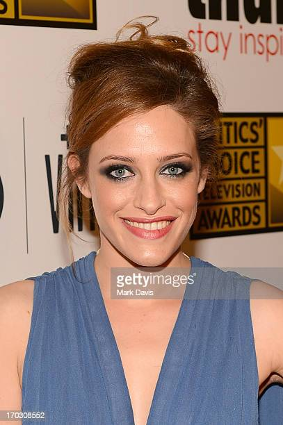 Actress Carly Chaikin arrives at Broadcast Television Journalists Association's third annual Critics' Choice Television Awards at The Beverly Hilton...