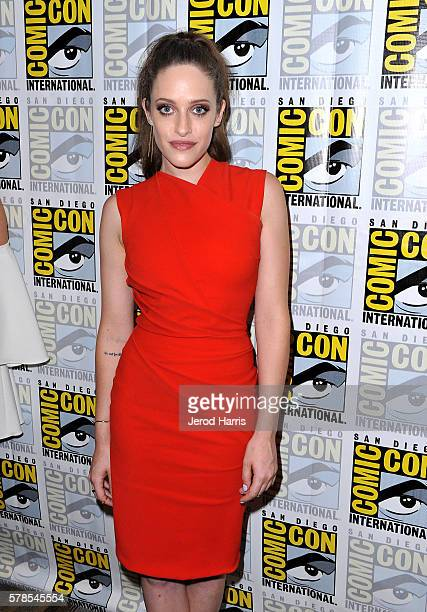 Actress Carly Chaikin attends Mr Robot Press Line during ComicCon International 2016 at Hilton Bayfront on July 23 2016 in San Diego California