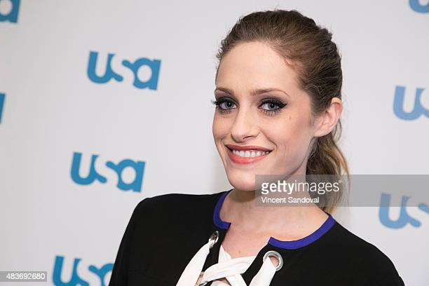 Actress Carly Chaikin attends SAG Foundation's 'Conversations' series screening of 'Mr Robot' at SAG Foundation Actors Center on August 11 2015 in...