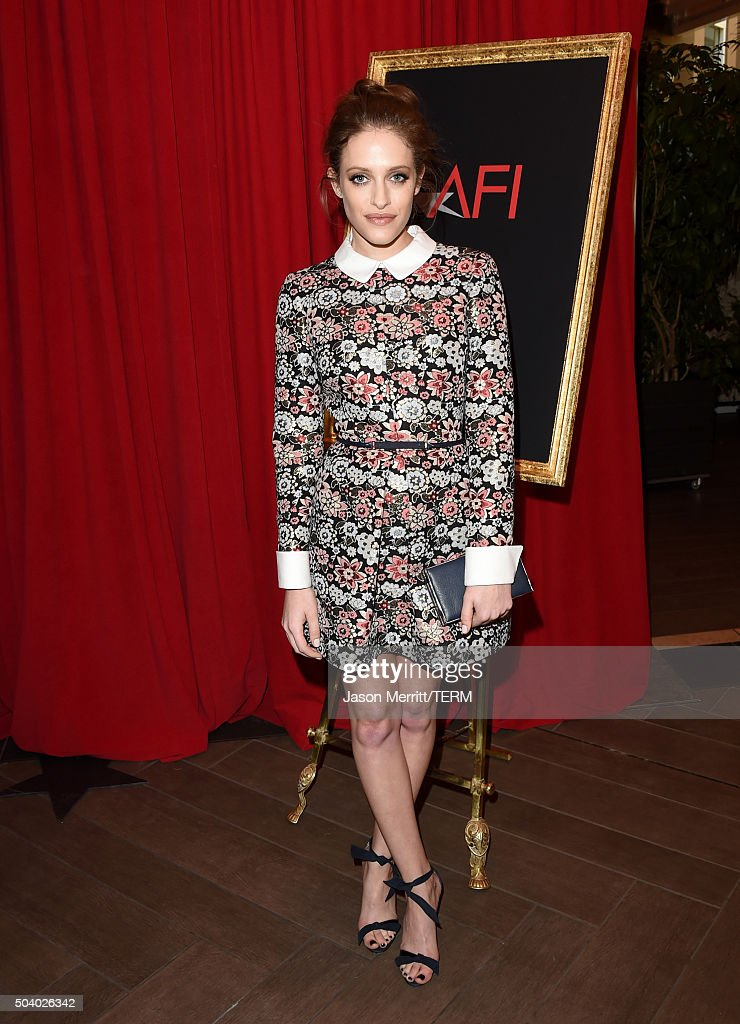 Actress Carly Chaikin attends the 16th Annual AFI Awards at Four Seasons Hotel Los Angeles at Beverly Hills on January 8, 2016 in Beverly Hills, California.