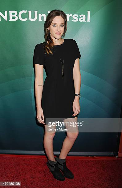 Actress Carly Chaikin attends the 2015 NBCUniversal Summer Press Day held at the The Langham Huntington Hotel and Spa on April 02, 2015 in Pasadena,...