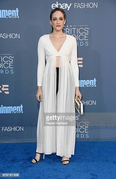 Actress Carly Chaikin attends The 22nd Annual Critics' Choice Awards at Barker Hangar on December 11 2016 in Santa Monica California