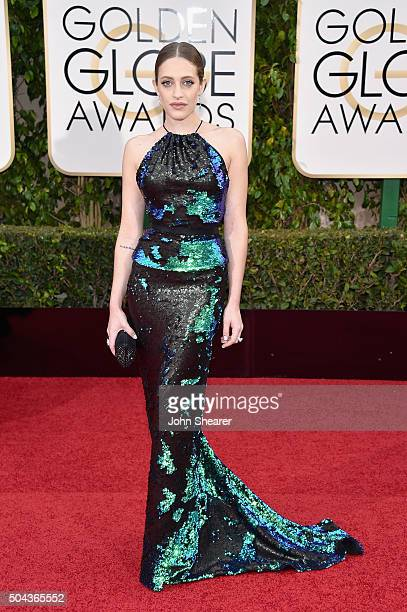 Actress Carly Chaikin attends the 73rd Annual Golden Globe Awards held at the Beverly Hilton Hotel on January 10 2016 in Beverly Hills California