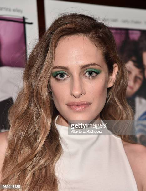 Actress Carly Chaikin attends the Premiere Of Paramount Pictures And Vertical Entertainment's Social Animals at The Landmark on May 30 2018 in Los...