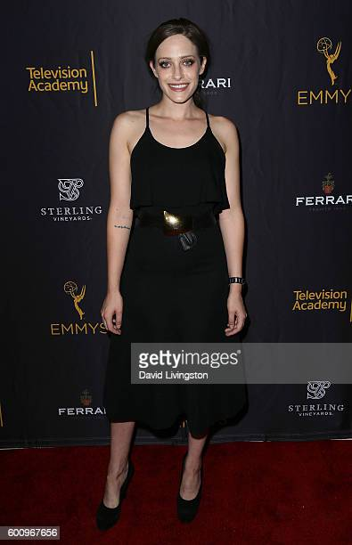 Actress Carly Chaikin attends the Television Academy celebrating nominees for outstanding casting at Montage Beverly Hills on September 8 2016 in...