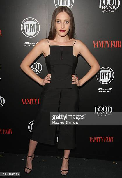 Actress Carly Chaikin attends Vanity Fair and FIAT Toast To Young Hollywood at Chateau Marmont on February 23 2016 in Los Angeles California