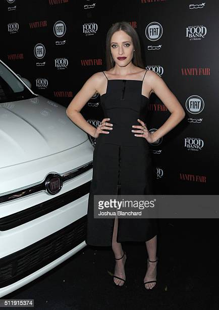 Actress Carly Chaikin attends Vanity Fair and FIAT Young Hollywood Celebration at Chateau Marmont on February 23 2016 in Los Angeles California
