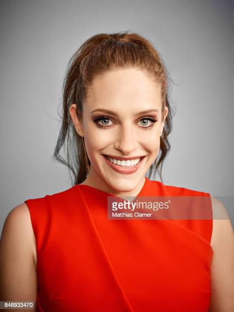 Actress Carly Chaikin from 'Mr Robot' is photographed for Entertainment Weekly Magazine on July 21 2016 at Comic Con in the Hard Rock Hotel in San...