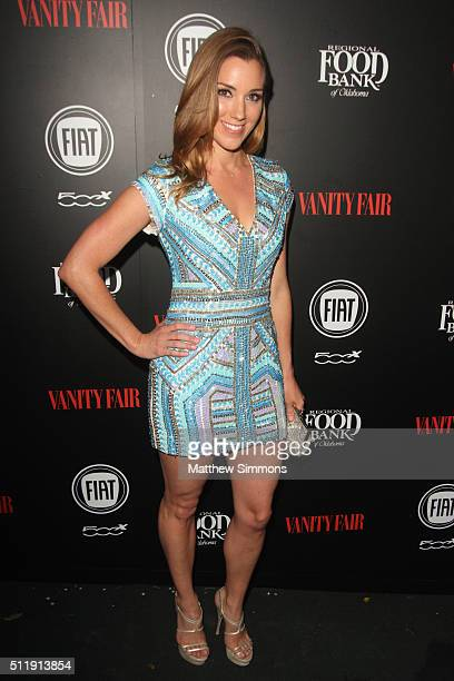 Actress Carly Craig attends Vanity Fair and FIAT Toast To Young Hollywood at Chateau Marmont on February 23 2016 in Los Angeles California