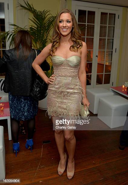 """Actress Carly Craig attends Vanity Fair and Juicy Couture's Celebration of the 2013 """"Vanities"""" Calendar hosted by Vanity Fair West Coast Editor..."""