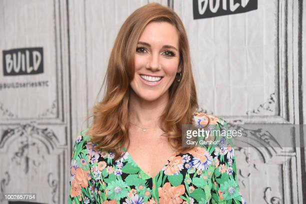 Actress Carly Craig visits Build Brunch series to discuss the web TV series 'Sideswiped' at Build Studio on July 20 2018 in New York City