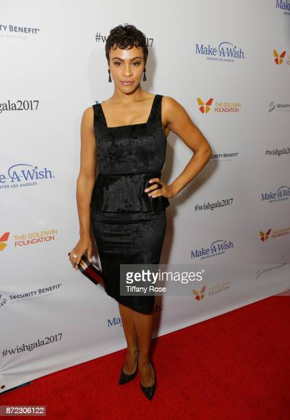 Actress Carly Hughes at the 2017 Make a Wish Gala on November 9 2017 in Los Angeles California