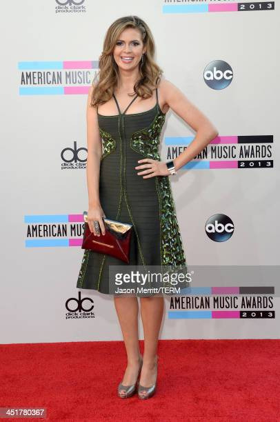 Actress Carly Steel attends the 2013 American Music Awards at Nokia Theatre LA Live on November 24 2013 in Los Angeles California