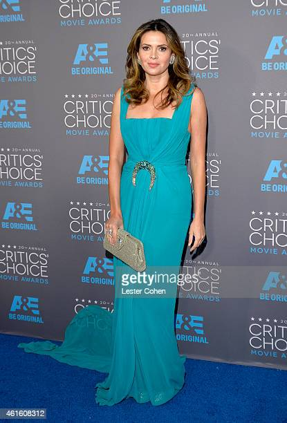Actress Carly Steel attends the 20th annual Critics' Choice Movie Awards at the Hollywood Palladium on January 15 2015 in Los Angeles California