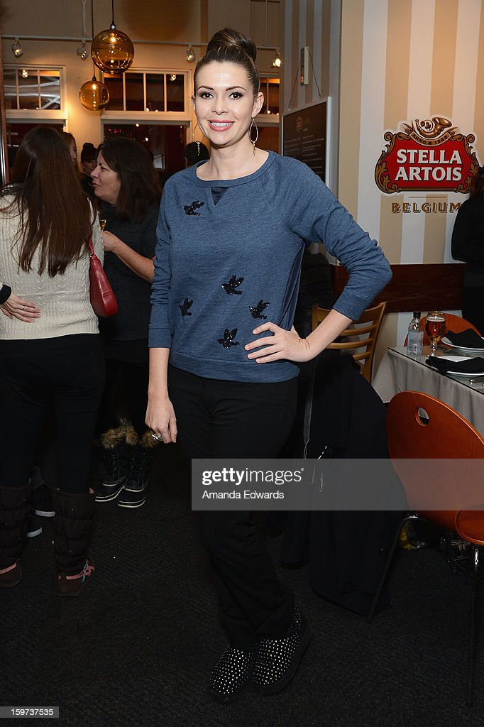 Actress Carly Steel attends the Rabbit Bandini Production Company Cocktail Party at Stella Lounge at The Lift during the 2013 Sundance Film Festival on January 19, 2013 in Park City, Utah.