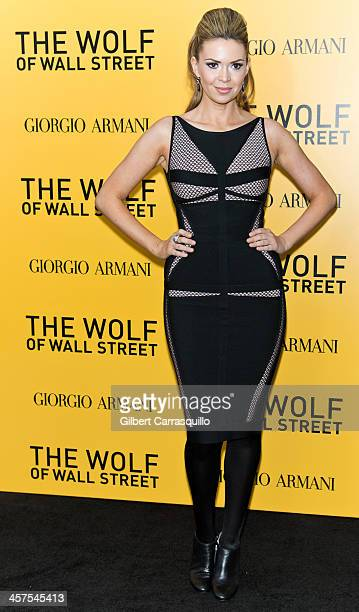 Actress Carly Steel attends the 'The Wolf Of Wall Street' premiere at Ziegfeld Theater on December 17 2013 in New York City