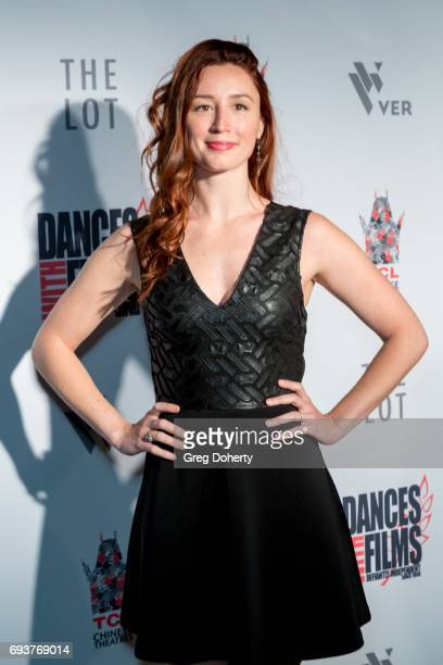 Actress Carly Turro attends the Landing Up World Premiere during 20th Annual Dances With Films at TCL Chinese 6 Theatres on June 7 2017 in Hollywood...
