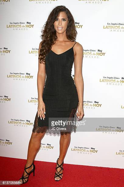 Actress Carmen Carrera attends the 2016 Latinos de Hoy Awards at Dolby Theatre on October 9 2016 in Hollywood California