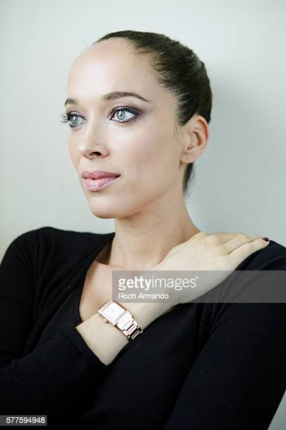 Actress Carmen Chaplin is photographed for Gala Croisette on May 21 2012 in Cannes France